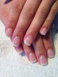 perfect french gel nails full sculpted wedding nails nails