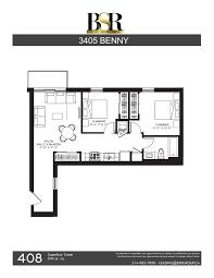 Floor Plan Of A Salon 3405 Benny Bsr Group