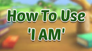 learn how to use u0027i am u0027 in sentences verb basic grammar for