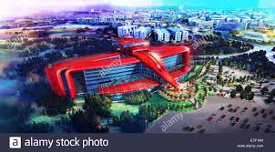 ferrari land will cover 75 000 square metres and include a variety