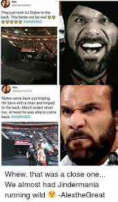 Aj Styles Memes - kim they just took aj styles to the back this better not be real kim