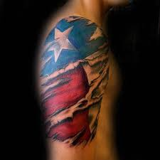 texas flag sleeve tattoo pictures to pin on pinterest tattooskid