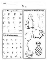 ideas about alphabet recognition worksheets for kindergarten
