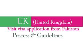uk visa application for visit visa from pakistan