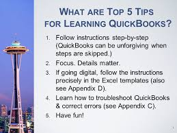 Quickbooks Chart Of Accounts Excel Template Computer Accounting With Quickbooks Ppt