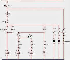 ilmu listrik rangkaian motor tiga fasa dengan star delta otomatis