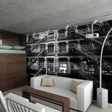 new york apartment block 1 wall murals touch of modern new york apartment block