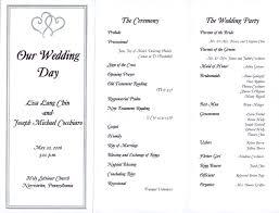 simple wedding ceremony program wedding ideas creative wedding program wording inspirations