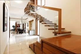 Floating Stairs Design Staircase Glass Railing Designs Floating Interior Stairs Design