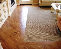 Carpet Vs Wood Floors Wood Floor And Carpet Combination Wood Flooring