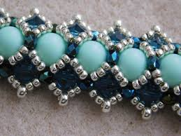 beaded bracelet pattern images Beaded bracelet tutorial pattern instructions beadweaving jpg