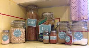 labels for kitchen canisters the cunning jar for your kitchen adornment