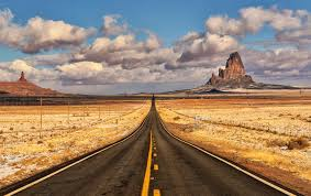the road runner awesome view of the road to monument valley arizona just imagine