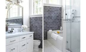 gray subway tile shower with gainsboro 2 12 gray subway glass tile