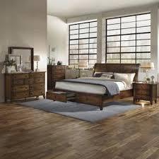 Camden Bedroom Furniture Camden Chestnut Wood 6 Piece Storage Bedroom Set House And