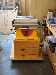 diy table saw stand with wheels from the workshop table saw stand andrew s view of the week