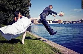 photo de mariage originale ils ont voulu des photos originales pour immortaliser leur mariage