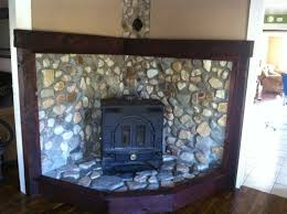 wood stove surround ideas stone surround for wood burning stove