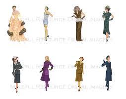 bombshell fashion 1940s women u0027s fashion printable vintage paper