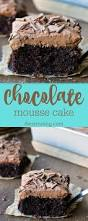 chocolate mousse cake recipe this cake is crazy good i could eat