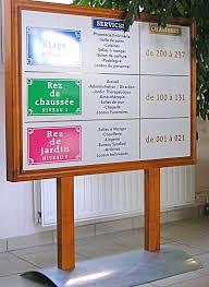 signaletique bureau signalétique