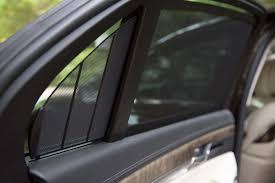 lexus ls vs genesis g90 2017 genesis g90 rear window shade motor trend
