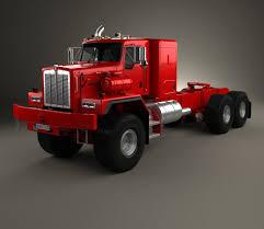kenworth 2016 models kenworth c500 tractor truck 2001 3d model hum3d