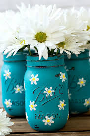 teal flowers 35 easy flower crafts ideas for craft projects with flowers