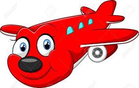 imagenes animadas de aviones ilustración de avión de dibujos animados de color rojo fotos