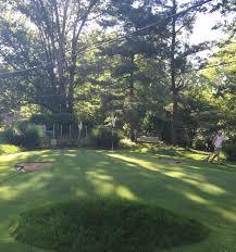 Backyard Golf Hole by My Dads Backyard Countryclub Golf