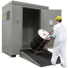 Outdoor Chemical Storage Cabinets Securall Buildings U0026 Lockers Hazmat U0026 Drum Storage Buildings