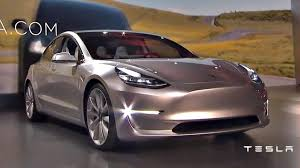 live tesla model 3 unveiled priced from 35 000 u0026 release in