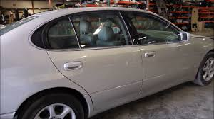 used parts for lexus 2001 lexus gs300 used parts youtube