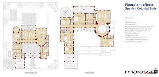Spanish Colonial Floor Plans Marassi North Coast Direct Golf U0026 Lagoon Front Villa For Sale