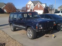 jeep cherokee blue 2000 xj patriot blue 8