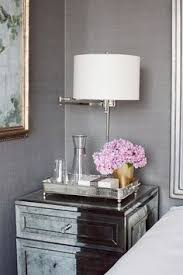 Silver Mirrored Bedroom Furniture by 23 Decorating Tricks For Your Bedroom Nightstands Decorating