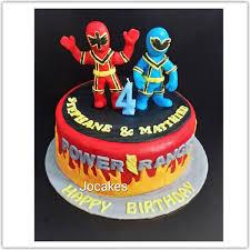 power rangers birthday cake power ranger cake for boy stephane and matthieu s 4th