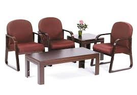 Office Furniture Chairs Waiting Room Wood Reception Chairs B9570