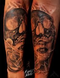 forearm skull tattoos cool skull disign part 39 tattooimages biz