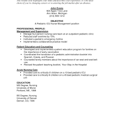 Doc 12751650 Good Objective For Resumes Template - doc 12751650 nurses resume sle template bizdoska com new grad