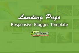 landing page templates for blogger landing page responsive blogger template jpg