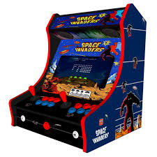 bartop arcade cabinet dimensions retro bartop arcade machine 520 games space invaders theme