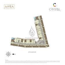 crystal residence 3 bedroom duplex type 01 floor plan