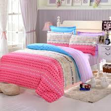 simple pink heart printed bedding with purple colored beadboard simple pink heart printed bedding with purple colored beadboard for girly bedroom ideas