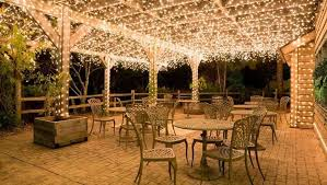 Lighting For Patios 20 Backyard Lighting Ideas How To Hang Outdoor String Lights