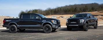 nissan canada parts and accessories nissan shows off modified titan pro 4x in chicago motor trend