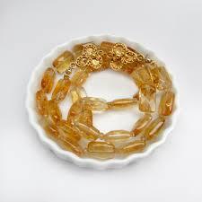 gold orange necklace images Gold citrine necklace orange citrine strand authentic citrine jpg