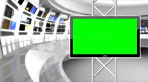 News Studio Desk by News Studio 9 Virtual Green Screen News Background White Hi