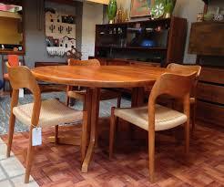 scandinavian teak dining room furniture attractive image