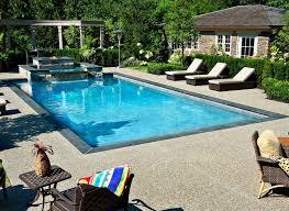 Concrete Pool Designs Ideas 20 Breathtaking Black Pool Chairs Home Design Lover